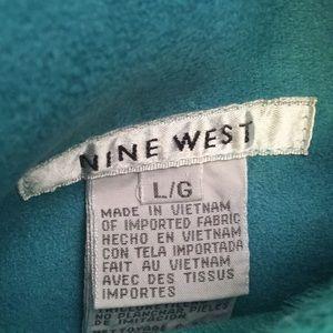 Nine West Jackets & Coats - Nine West reversible turquoise vest